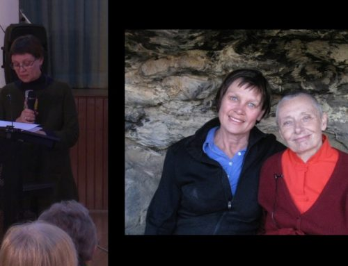 August Guest Speaker: Anne Kempton and Wilma Simmons